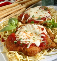 Zorro Chicken Parmesan